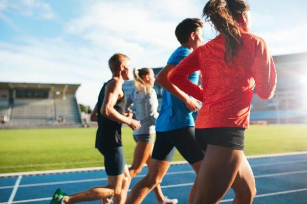 Activités sportives - Team running